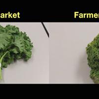Grocery challenge: Farmers' market vs supermarket