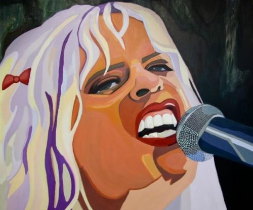 Kat Bjelland by Jennie Philpott