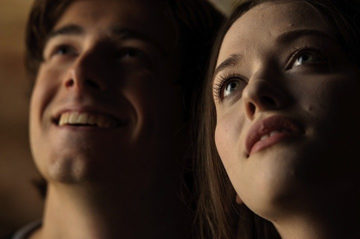 Kat Dennings and some cleft-chinned dude in Daydream Nation