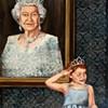 Kat Frick Miller's royal paintings