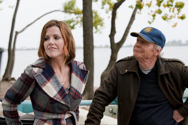 Kathleen Robertson and Doug McGrath in Down The Road Again
