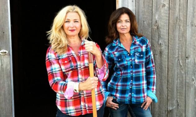 Kathyrn and Janet MacLellan of KAZAN Co-op. - JANET MACLELLAN