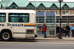 Keep Off HRM Traffic manager Dave McCusker says thee's no room on buses for new riders.