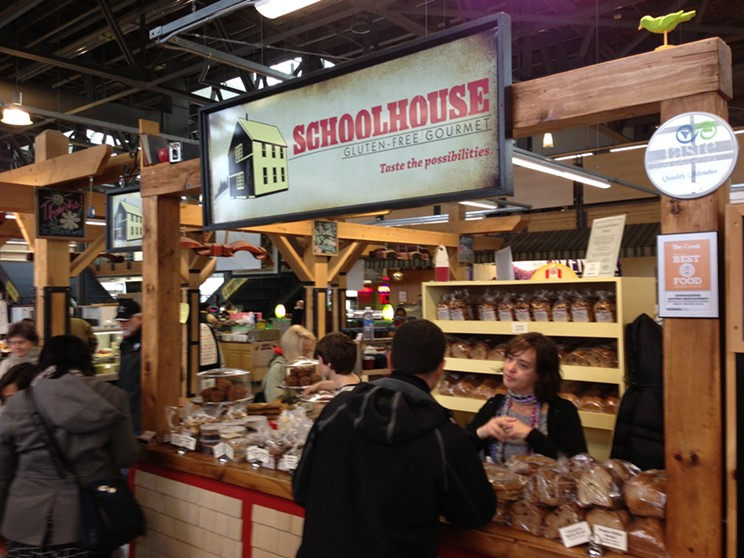 Learn about life after wheat at Schoolhouse Gluten-Free Gourmet.
