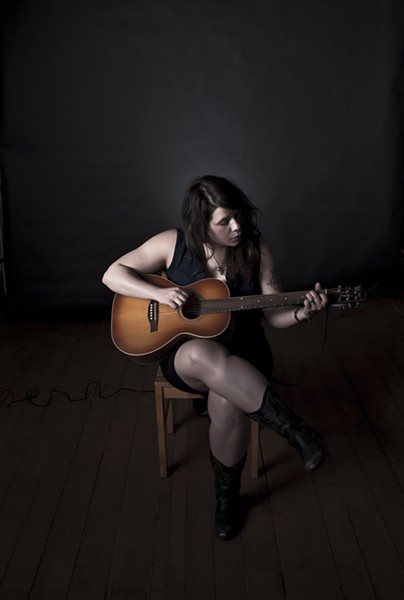 """Lee-Anne Poole strums along to an autobiographical love letter in """"Country Song"""""""