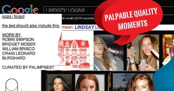 Lindsey Lohan, a muse?