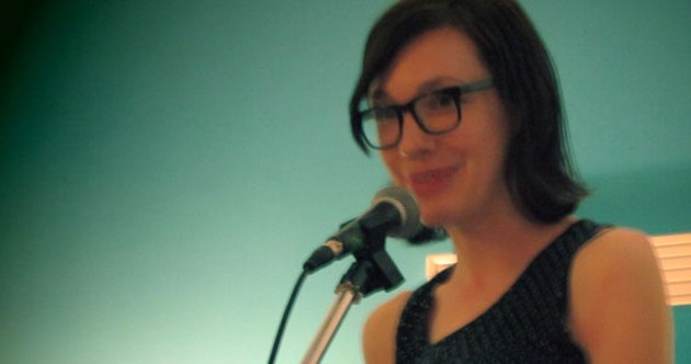 Local poet Jaime Forsythe's Sympathy Loophole is a tribute to the strangeness of everyday life. - MAX MIDDLE