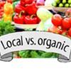 Local versus organic