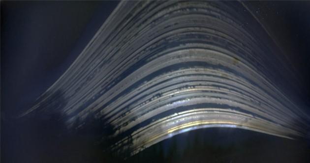 "Lucas Dambergs' ""Hester Porch"" solargraph."