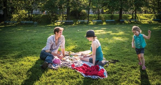 Make a picnic blanket statement this summer. - RILEY SMITH