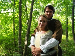 JESSE MACLEAN - Margaret Legere as Portia and - Ben Irvine as Bassanio