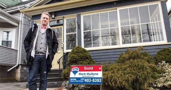 Mark Mullane's sold on Dartmouth living. - RILEY SMITH