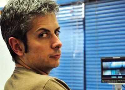 Mark Palermo on-set.