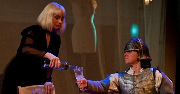 Martha Irving and Leana Todd in Top Girls. - KEENAN GODDARD-DONOVAN