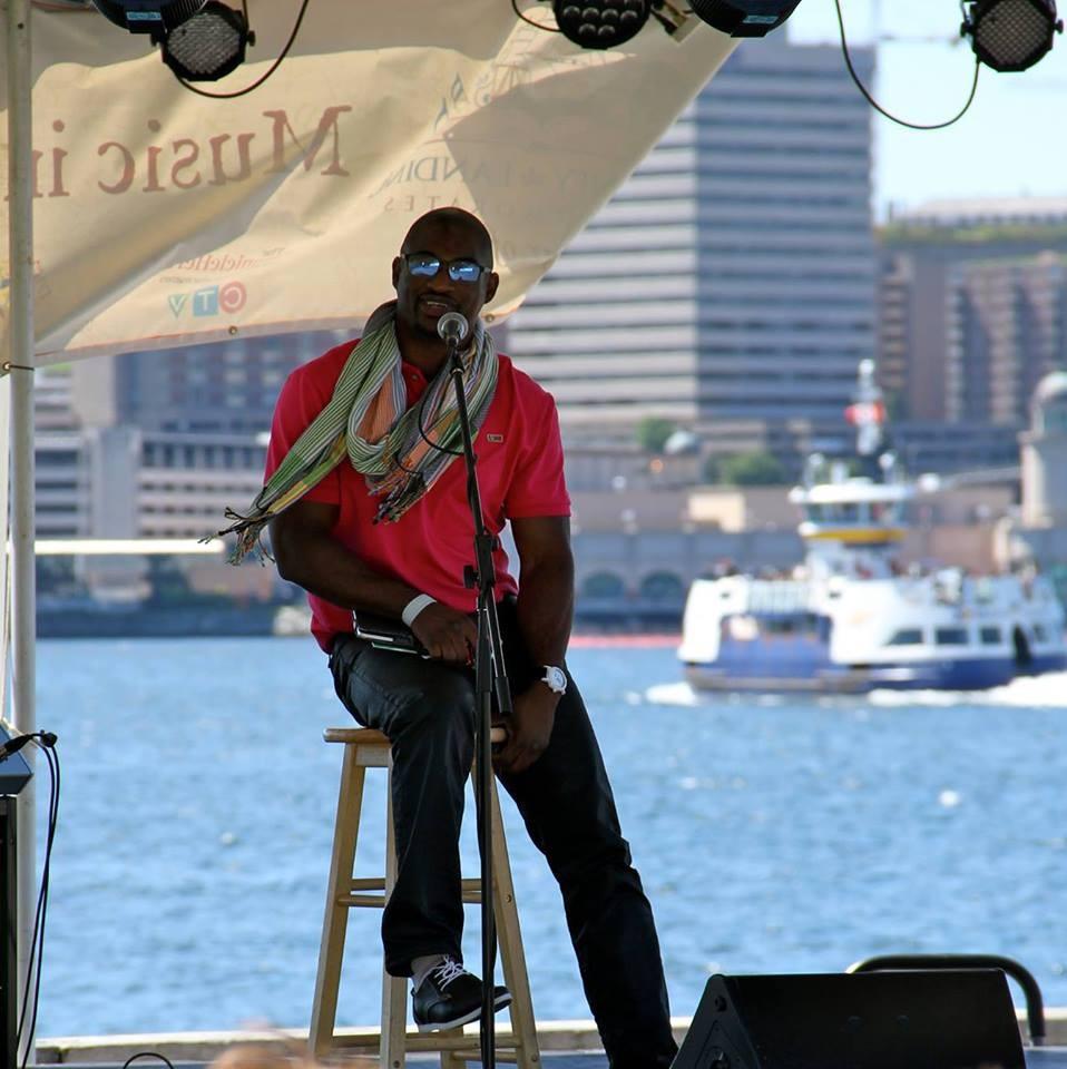 Michael Fisher during Prismatic Arts Week at Alderney Landing