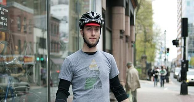 Michael Kryzalka-Neumaier's ideal bike. - ANGELA GZOWSKI