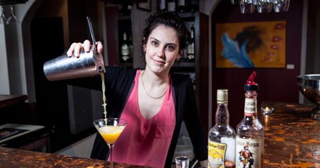 MODA's Spiced Pineapple Martini is like tropical autumn. Tropicautumn. - RILEY SMITH