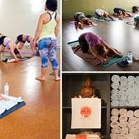 Moksha Yoga, Shanti Hot Yoga, Bikram Yoga