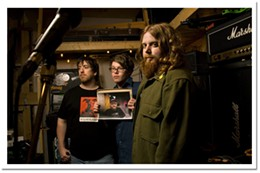 Montgomery Moth The band's straight hard-rock sound stays fresh.photo Aaron Fraser