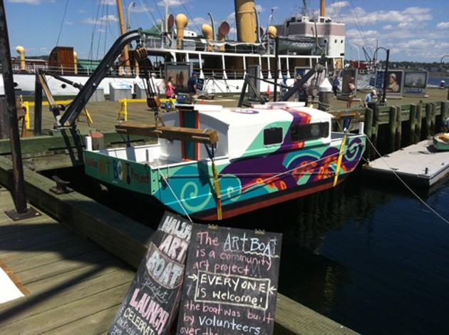 More arts boats? ArtsHalifax will decide. - HALIFAX COMMUNICATIONS