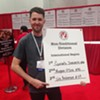 Morris East scores at the International Pizza Expo