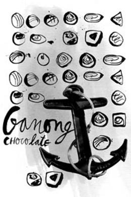 Nautical nougat Ganong chocolates anchor the sweet history of Atlantic Canada.illustration Gillian MacLeod