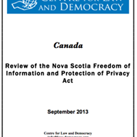NDP rejects recommendations for strengthening Nova Scotia's freedom of information policies