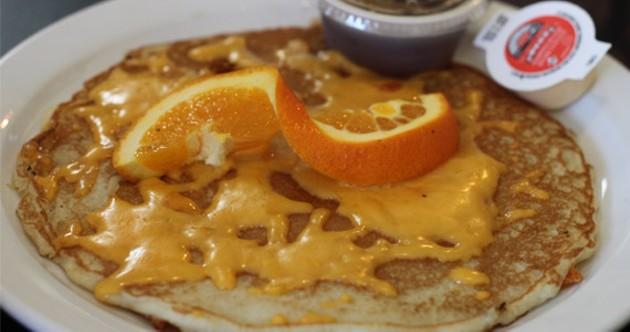 Nena's game changing cheese pancake.
