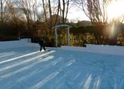 Nova Scotian backyard rinks