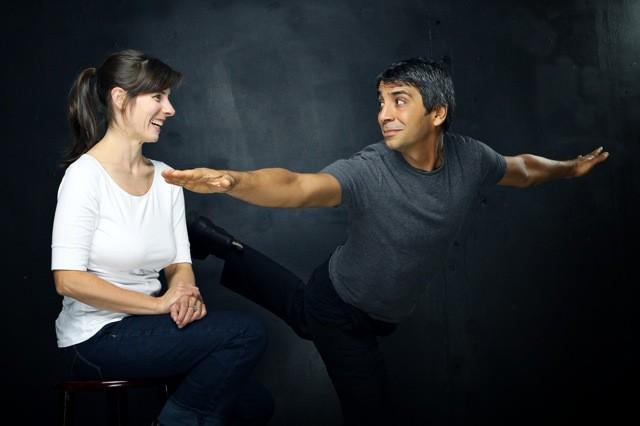 Onelight's Maggie Stewart and Shahin Sayadi. - SHAUN SIMPSON