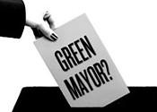 Paint City Hall green
