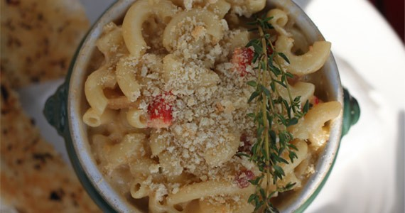 Pass the pepper, please, for this bacon and lobster mac and cheese. - MELISSA BUOTE