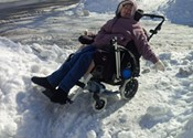 I should not be limited because I am in a wheelchair