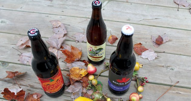 Pile on for autumnal delights from Garrison, Boxing Rock and buckets more. - WHITNEY MORAN