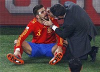 Gerard Pique - The most unlucky player in the World Cup.
