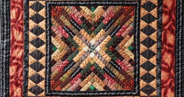 "Polly Greene's ""Cabin Fever, Quilt #1"""