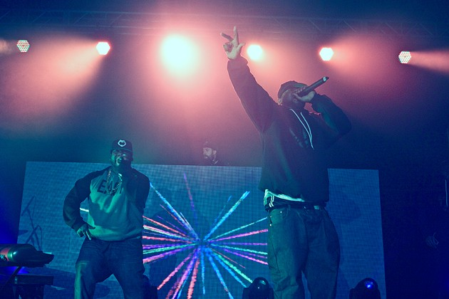 Raekwon and Ghostface at the Multi-purpose Centre - LENNY MULLINS