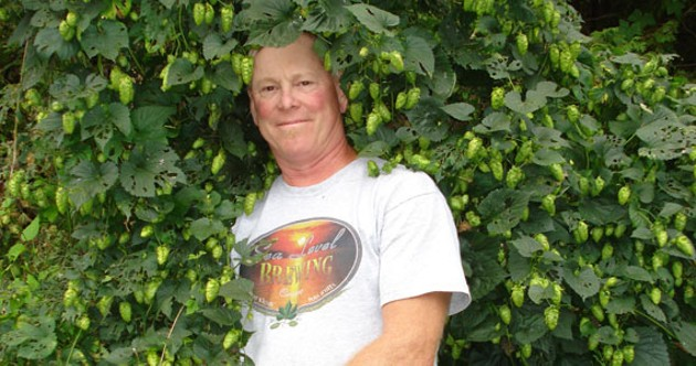 Randy Lawrence, hoppy-go-lucky brewer.