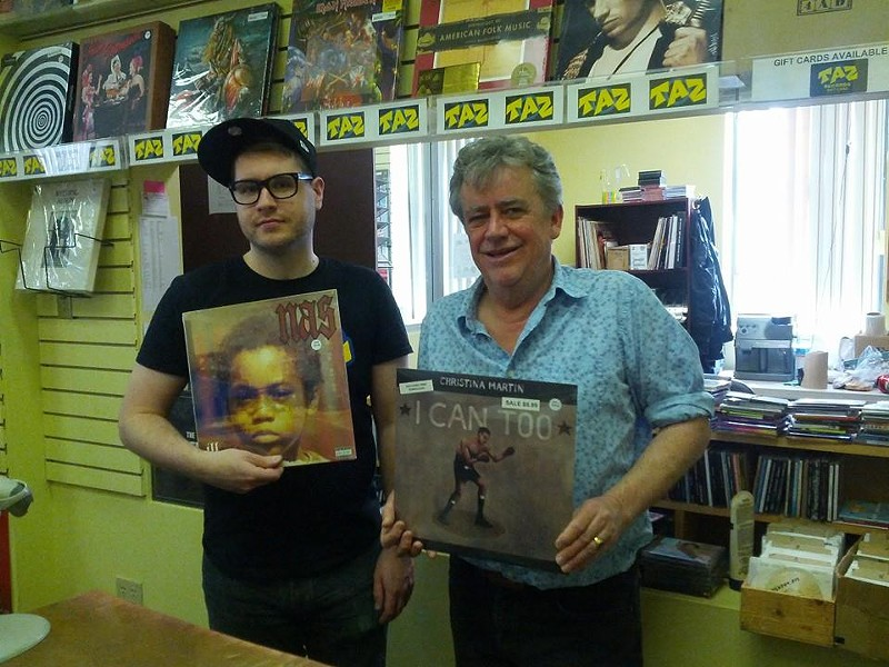 Reid and Donnelly and their favourite records - CELINA IP