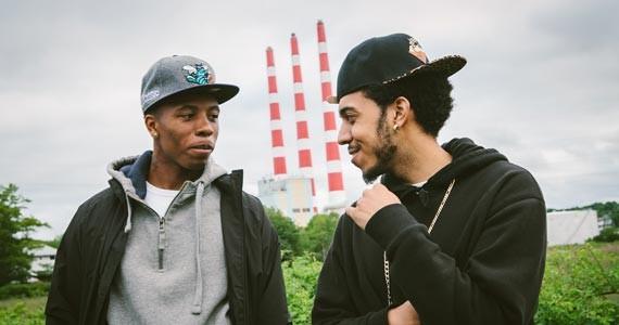 RellzInYaGirl and Psyc Tha Prince hold it down for Dartmouth. - SCOTT BLACKBURN