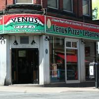 Reno time at Venus Pizza/Mezza Kitchen