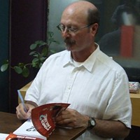 Richard Starr at book launch in Dartmouth