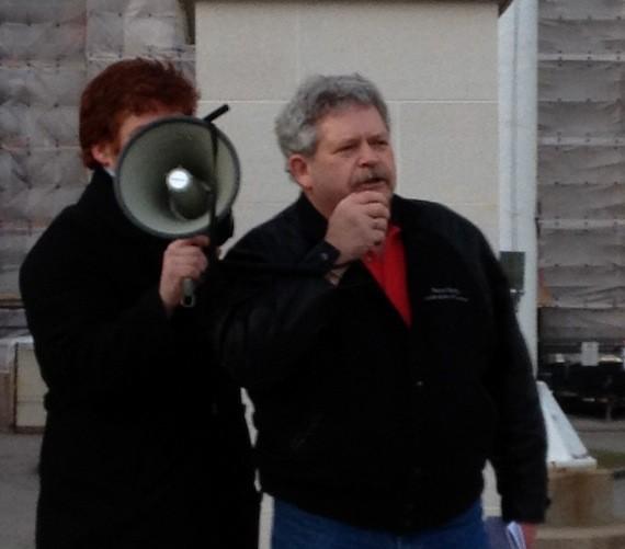 Rick Clarke, president of the Nova Scotia Federation of Labour.