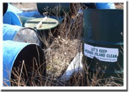 Rights of refuse-al McNabs Island is finally getting some garbage-removal love.photo Meredith Dault
