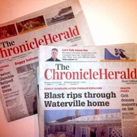 How is the <i>Chronicle Herald</i> still being printed?