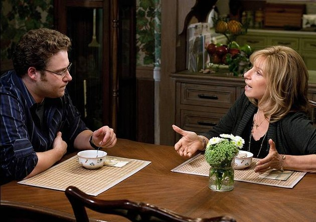 Rogen and Streisand hash out the pros and cons of taking on a film like this.