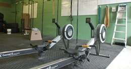 MATTHEW MORGAN - Row, row, row your fitness boat at CrossFit Kinetics.
