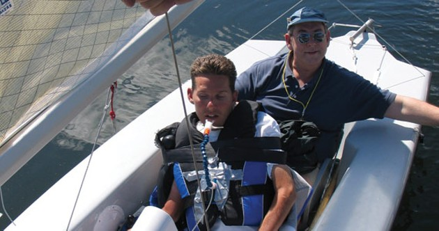 Sail Able offers sailing lessons on Tuesdays and Saturdays starting the end of June. - JULIE SOBOWALE