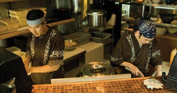 Sake to ya at Hamachi Kita.