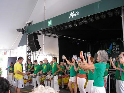 Samba Nova brings the beat